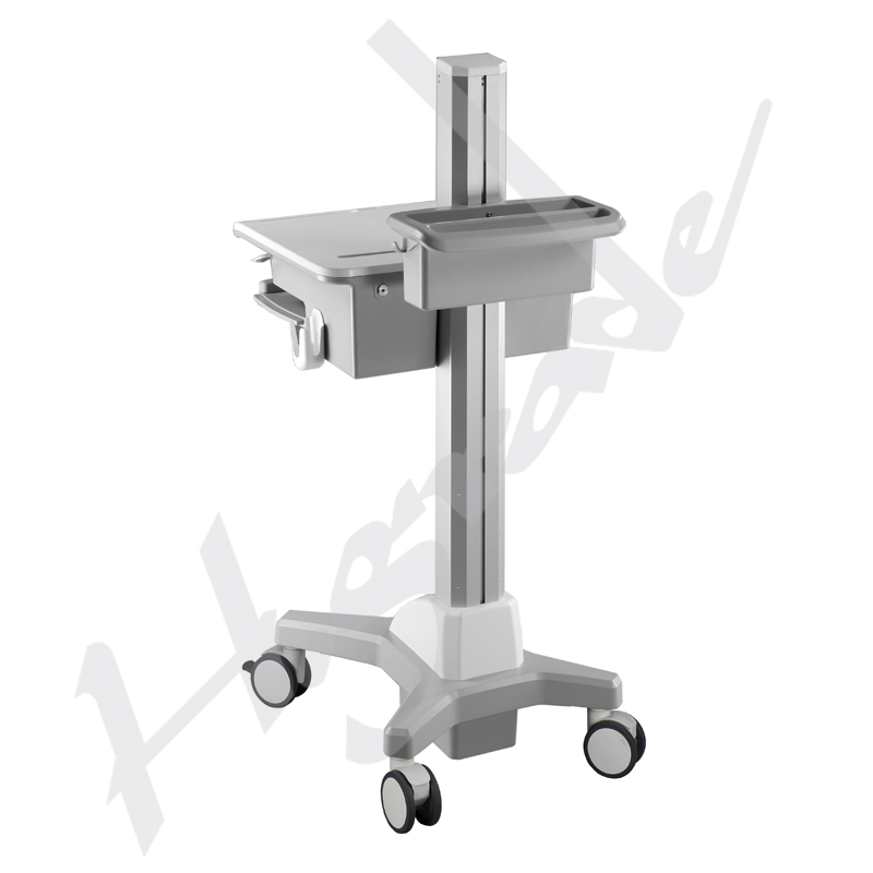 Workstation cart for laptop
