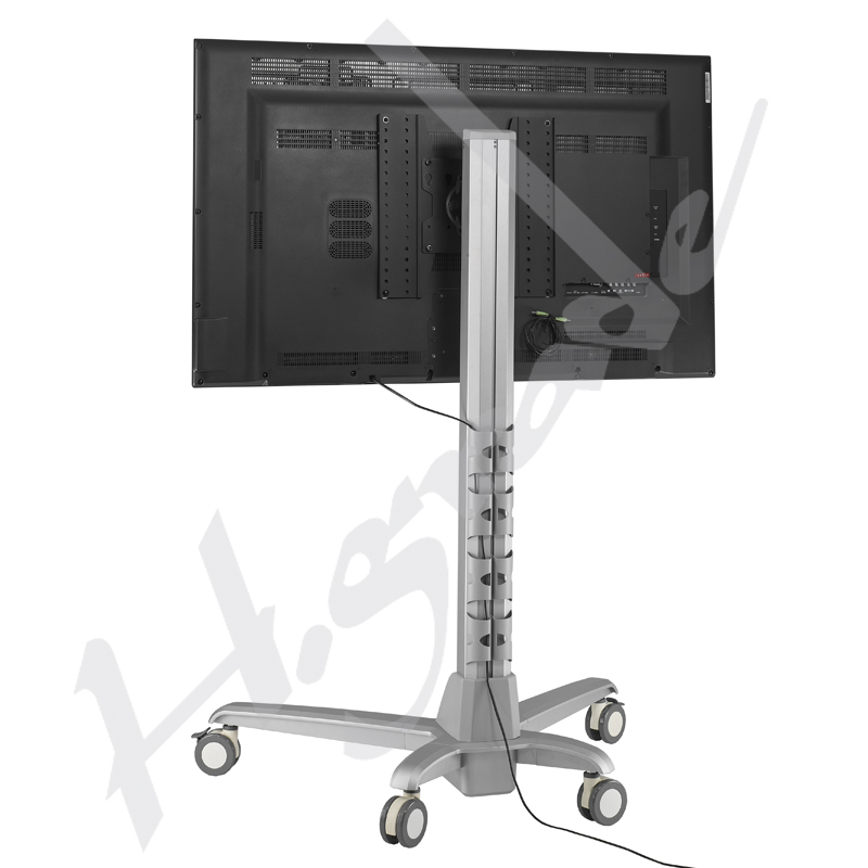 Electrical Lift Conference Mobile Display Trolley Cart