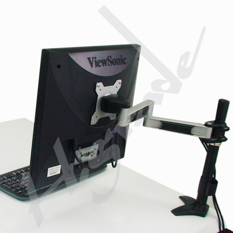 Single LCD Arm with dual linkage - Grommet base