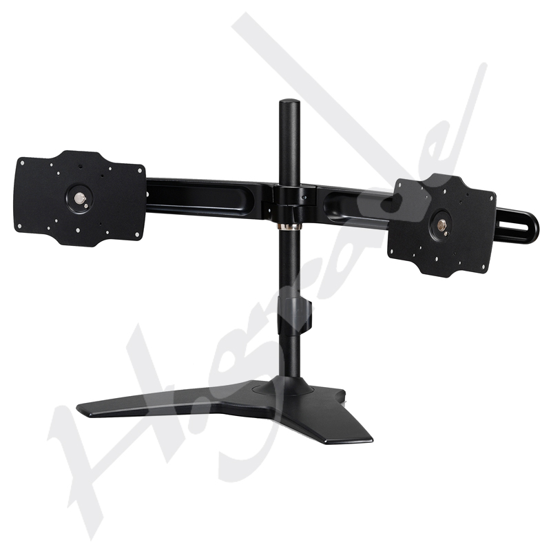 Multi Mounts - Large Dual LCD Monitor Desk Mount - Monitor size up to 32&quot